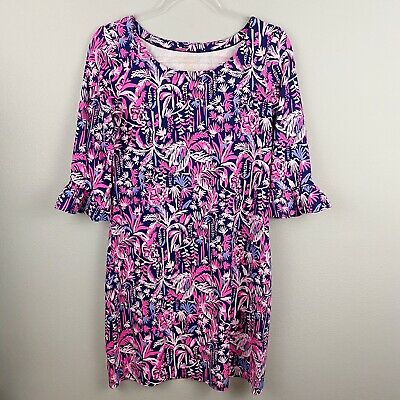 Lilly Pulitzer NWT UPF 50 Sophie Dress in Resort White Canopy Chaos $138