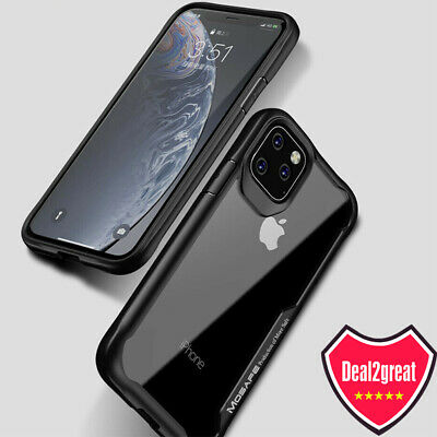 For iPhone 11 Pro Clear Case Mosafe [X-Blade] Shockproof Protective Cover