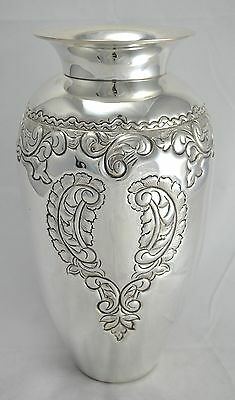 N 4359 Reg Magnifico Vaso In Argento Sheffield Collection