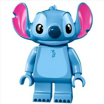 G3 - Stitch Disney - Custom Minifigure Gashapon MOC LEGO - Nuovo in Blister