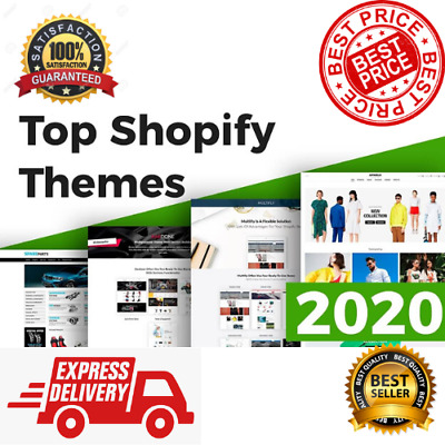 50 Best Premium Shopify Themes ⭐ Official ✔️ Updated 🔥 Fast Delivery ⭐ ✔️