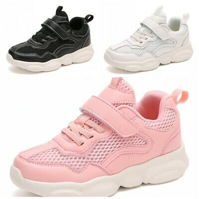 Kids Boys Girls Mesh Casual Sports Running Shoes Children Breathable Sneakers D