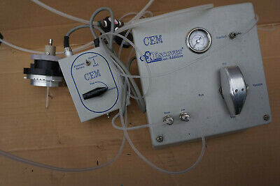 CEM DISCOVER  NP-1051 gas addition pressure device switch regulator
