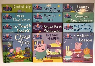 Lot 12 Peppa Pig Childrens Picture Books