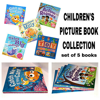 Childrens Books Bedtime & Story Time Pictures Book Collection Bundle for Kids
