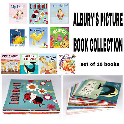 Children's Picture Book Collection Bundle of 10 Story Time & Bedtime Book