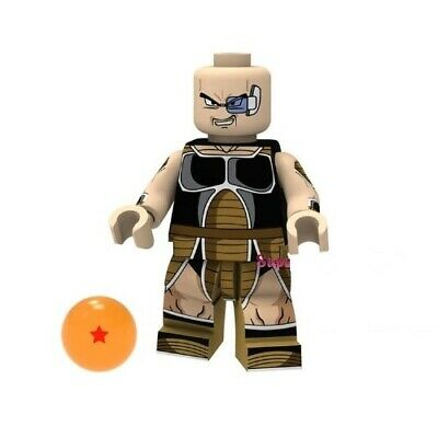 DBS - Nappa Dragonball Super - Custom Minifigures  MOC LEGO - Nuovo in Blister