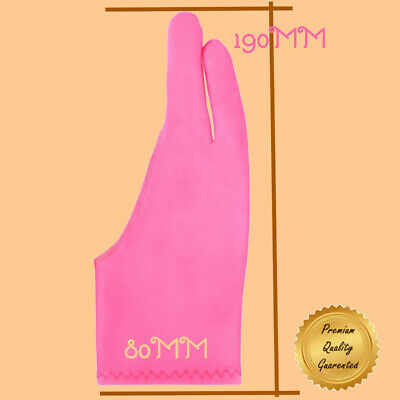 Pink Anti-Fouling Artist Gloves For Drawing & Sketching On Digital Tablet/Sceen