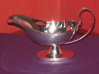 Sterling silver Gravy Boat Hallmarked around mid 20th century