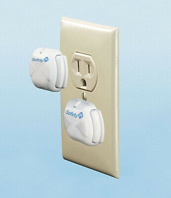 Safety 1st Deluxe Press-Fit Plug Protectors (8 Pack) Outlet covers