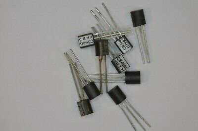 10 transistors BF495 NPN Vce20V Ic30mA TO-92   PHILIPS