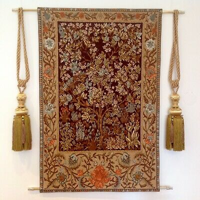 Gobelin Tapestry Bild Wandteppich Teppich William Morris 65x100cm