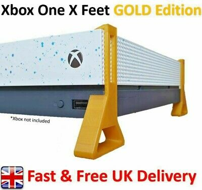 Xbox One X Feet / Cooling Stand 'GOLD Edition' (Pack of 4)
