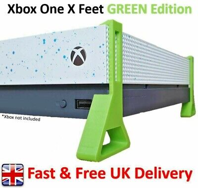 Xbox One X Feet / Cooling Stand 'GREEN Edition' (Pack of 4)