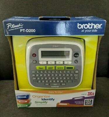 BRAND NEW Brother P-Touch PT-D200 Label Thermal Printer 🚀 FREE FAST SHIPPING