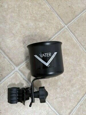 Vater Percussion Clamp On Drink/Beverage Holder/Caddy-Metal Construction