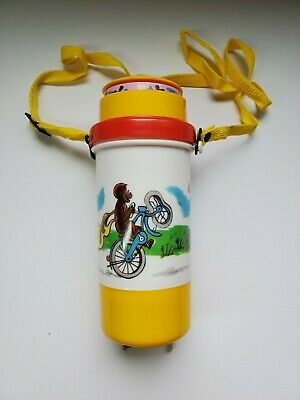 Vintage Curious George 1990's Collectible Water Bottle: Never Been Used