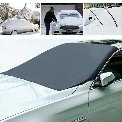icescreen Magnetic Frost Ice Snow Sun Windshield Cover Deluxe Black