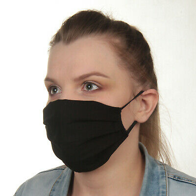 Cotton Face Mask, 3 layers, washable, reusable UK seller