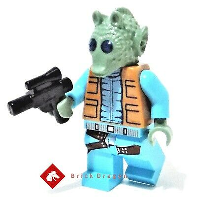 NEW FAST 75052-2014 GREEDO WITH BELT FIGURE LEGO STAR WARS GIFT