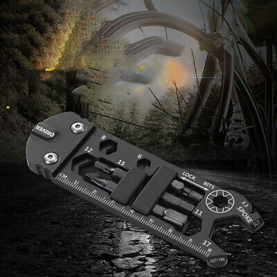 Home Steel Gadget Multifunction Wrench Portable Outdoor Bicycle Repair Universal