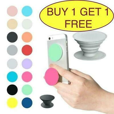 Pop Up Holder Stand Pop Out Expanding Selfie Finger Grip For iPhone Samsung
