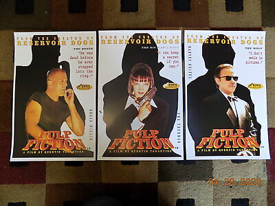 """Pulp Fiction ( 11"""" X 17"""" ) Movie Collector's Poster Prints ( Set of 3 )"""