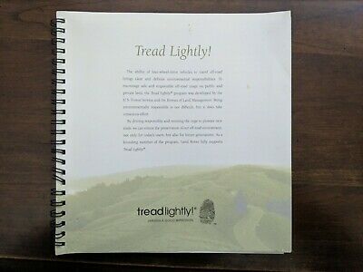Tread Lightly! Land Rover feature booklet, Circa ~1999