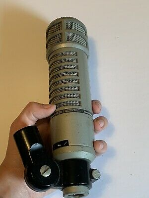 Electro Voice RE20 Variable D Dynamic Microphone With Casing