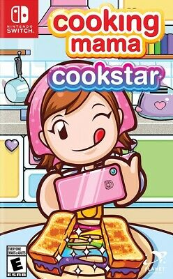 Nintendo Switch Cooking Mama Cookstar Brand New Factory Sealed - In Stock Now!
