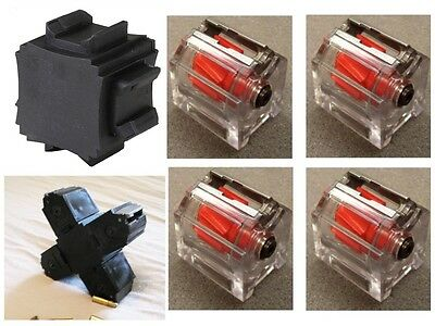 4 Pack Fits RUGER 10/22 CLEAR w/ quad adapter Magazine .22lr Mags Magazine 10 RD