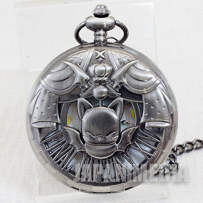 RARE! Final Fantasy XIV Pocket Watch Moogle Taito JAPAN SUARE ENIX