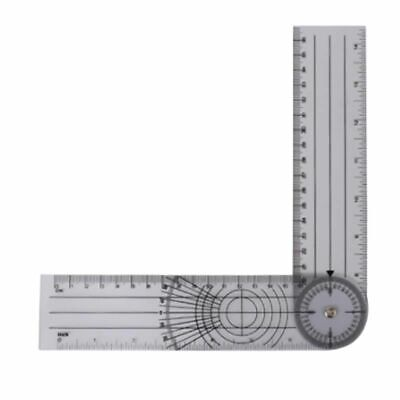 Spinal Ruler Angle Medical Professional 360 Degree Measuring Tool Goniometer