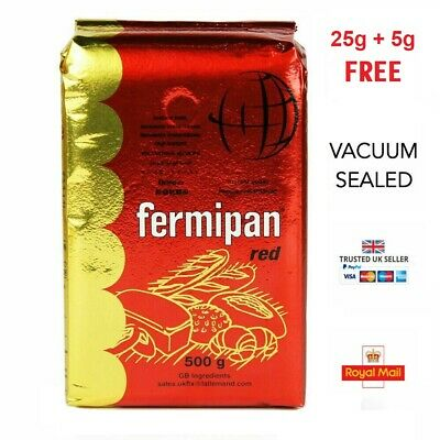 🍞 Fermipan Red Instant Yeast 🍞 25g + 5g FREE = 30g • GF Baking Bread Vegan 🍞