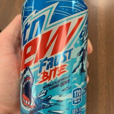 Mountain Dew Major Melon Rare MTN DEW Frost Bite In Hand Ready To Ship Limited