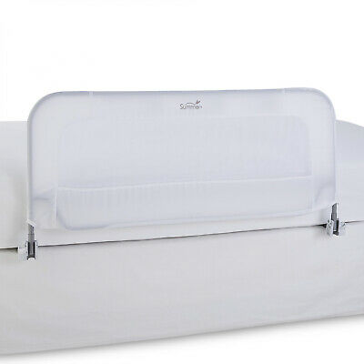 Infant Safety Bedrail Secure Baby Sleep Folds Down For Twin To Queen Mattresses