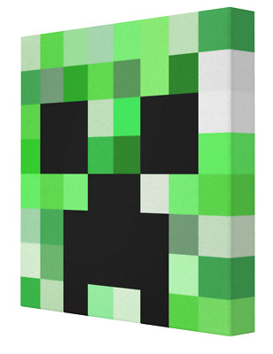 """Minecraft Face Canvases - 12x12"""""""