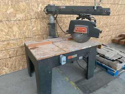 """Large- 16"""" Dewalt Compound Miter Saw and table"""