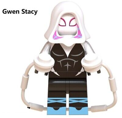 G3 - Spider-Gwen Stacy - Custom Minifigures Gashapon MOC LEGO - Nuovo in Blister