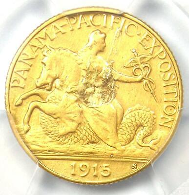 1915-S Panama Pacific Gold Quarter Eagle $2.50 Coin - Certified PCGS XF Details