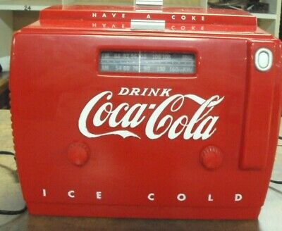 1988 Coca-Cola Radio And Cassette Player, Works