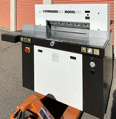 """28"""" EBA Standard 720 Hydraulic Paper Cutter Industrial 3 Phase **WE FREIGHT**"""