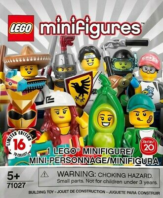 LEGO MINIFIGURES SERIES 20 71027 PICK CHOOSE YOUR FIGURE BUY 3 GET 1 FREE
