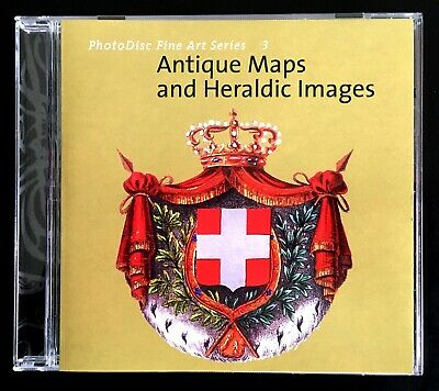 PhotoDisc Fine Arts Series 3 - Antique Maps & Heraldic Images - Stock PhotosDisk