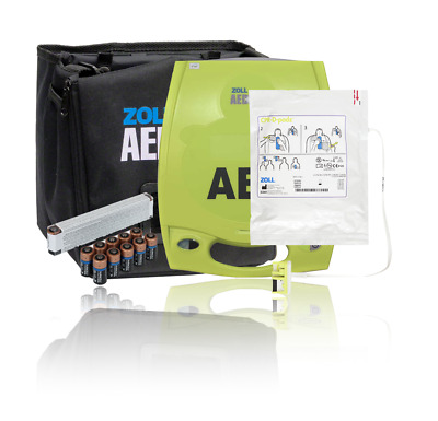 Zoll AED Plus AED with New Batteries 2024 CPRD Pads Year Warranty