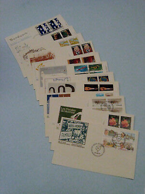 Canada Stamps.......Lot of 12 First Day Covers 1981