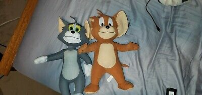 Tom And Jerry Cartoon Plush Stuffed Animal Toys Factory NEW