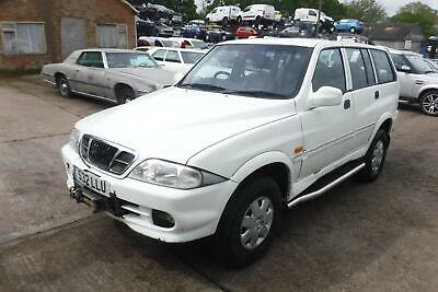 Daewoo Musso Petrol Auto 39,000 Miles - VEHICLE SALVAGE - DAMAGED REPAIRABLE