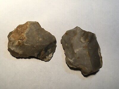 Palaeolithic Flint Tools.scrapers..rare.Prehistoric.