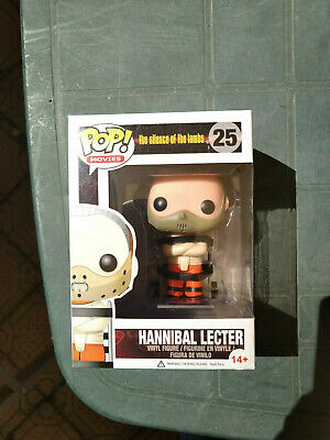 FUNKO POP MOVIES THE SILENCE OF THE LAMBS Hannibal Lecter #25 ORIGINAL NEW
